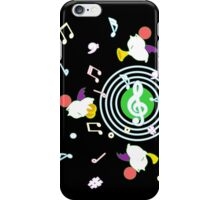 Music Moogle (Black&Green) iPhone Case/Skin