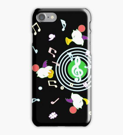 Music Moogle (Black&Green) iPhone Case/Skin