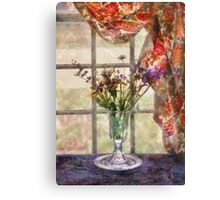 Flower - A vase of flowers  Canvas Print