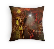 """""""When a Child is Born ..."""" Throw Pillow"""