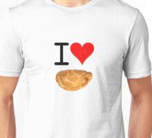 I Love Pasties Unisex T-Shirt