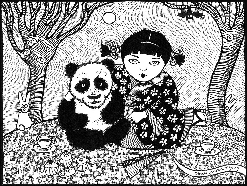 My Little Panda by Anita Inverarity