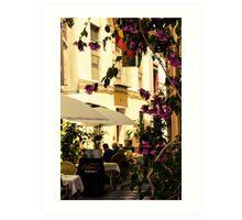 Streets of Seville, Spain  Art Print