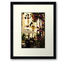 Streets of Seville, Spain  Framed Print