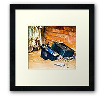 No more TV Framed Print