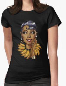 Josephine Baker La Perla Noire Womens Fitted T-Shirt