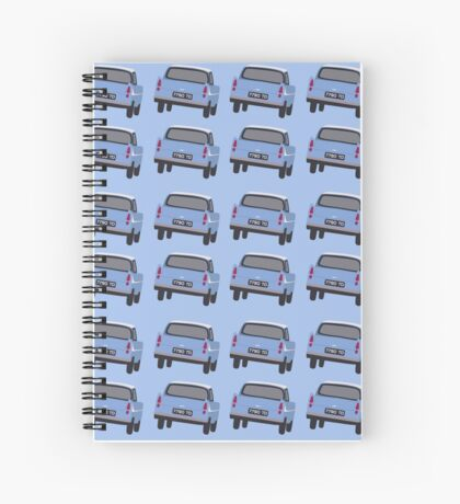 The flying one Spiral Notebook