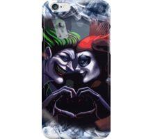 Harley Quinn & Joker mad love  iPhone Case/Skin