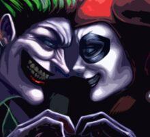 Harley Quinn & Joker mad love  Sticker