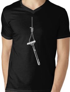 Death to Razors Mens V-Neck T-Shirt