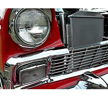 1956 chevy bel-air Photographic Print