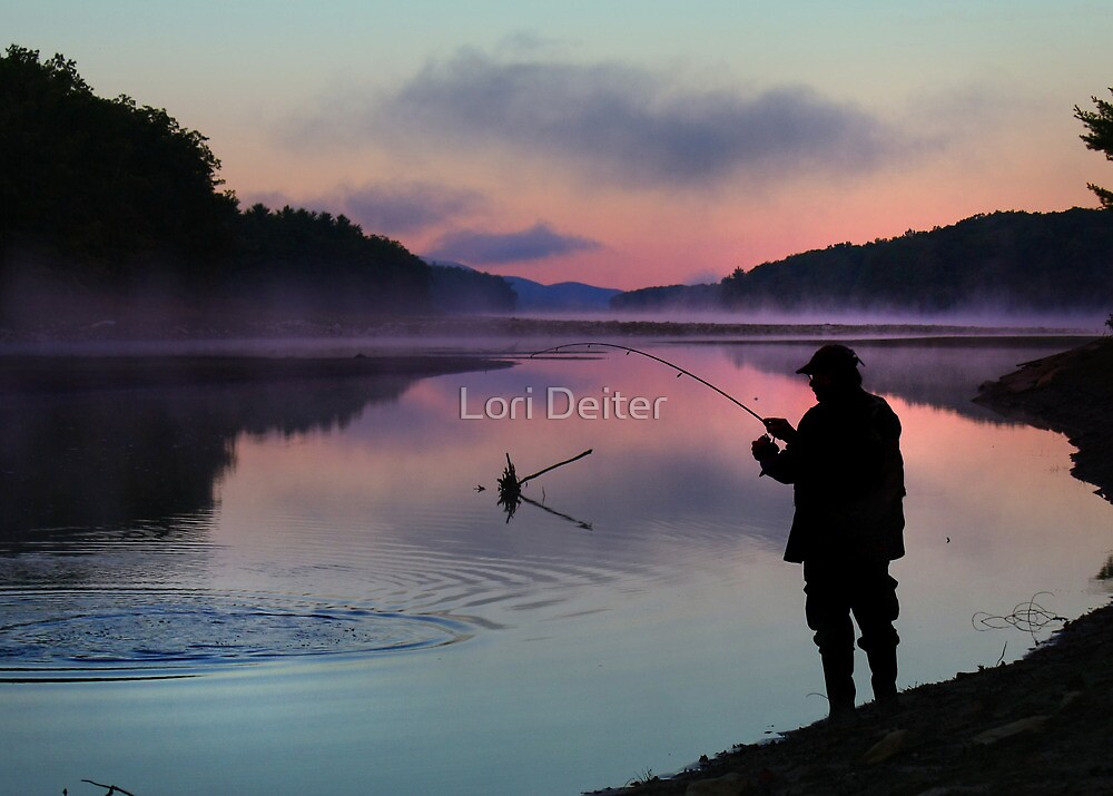 Early Catch by Lori Deiter
