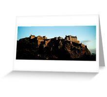 Edinburgh Castle - Edinburgh Greeting Card