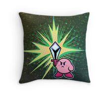 Kirby Sword Throw Pillow