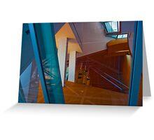 Los Angeles CA Abstract Reflection Greeting Card