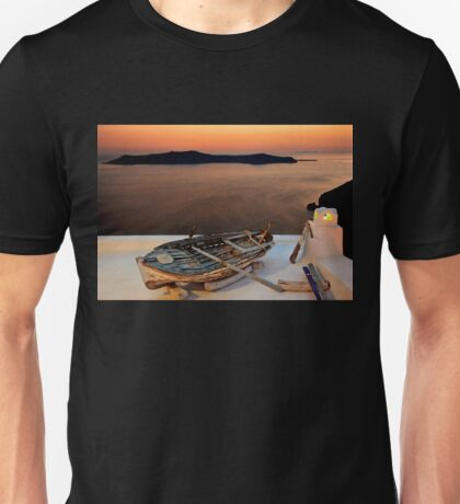 The boat has landed Unisex T-Shirt