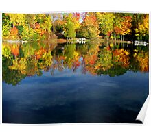 Autumn tranquility  Poster