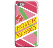 Back to the Future Hover Board iPhone Case/Skin