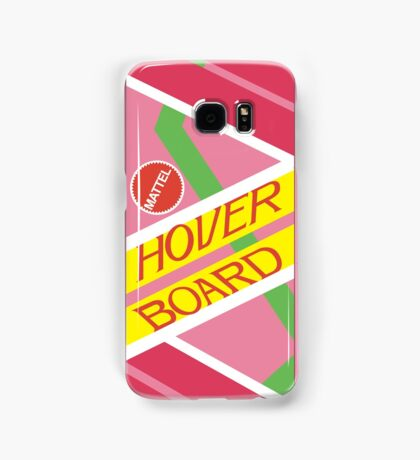 Back to the Future Hover Board Samsung Galaxy Case/Skin