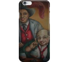 Two Old Clowns iPhone Case/Skin