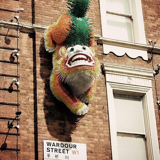 wardour dragon by Kim Jackman