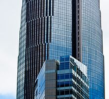 San Francisco Buildings Financial District by Buckwhite