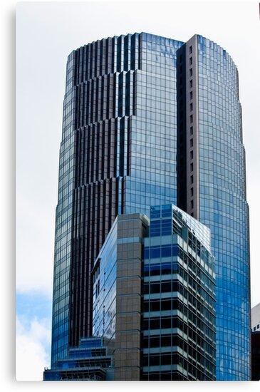 San Francisco Buildings Financial District by Buckwhite
