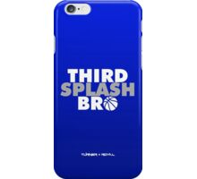 Third Splash Bro iPhone Case/Skin