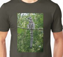 Ring-tailed Lemur Unisex T-Shirt