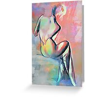 Beautiful back,.,,,,, Greeting Card