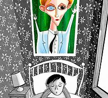 The Boy who Dreamed of David Bowie  by Andrew  Hitchen