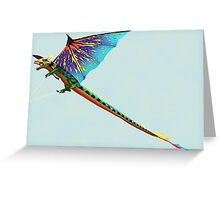Fly Dragon Fly Greeting Card