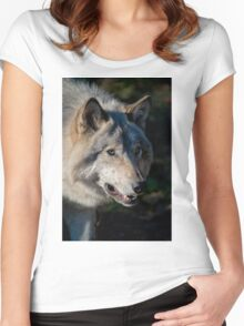 Timber Wolf Women's Fitted Scoop T-Shirt