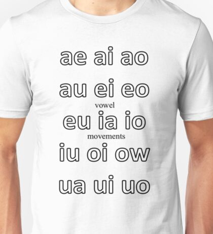 Alternative to 'Diphthongs' Unisex T-Shirt