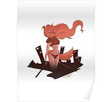 Neko Girl Poster