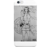 Lara Crof - Tomb Raider in Witchblade iPhone Case/Skin