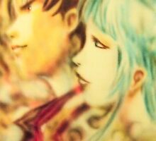 Anime airbrush art by Janne Flinck