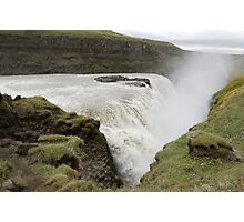 Icelandic waterfall Photographic Print