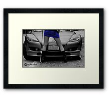 The Reelady Framed Print