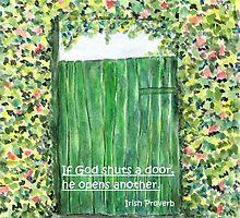 God opens doors by Caroline  Lembke