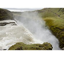 Icelandic waterfall Gullfoss Photographic Print