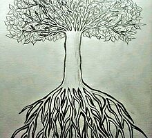 Your breath of life is in the trees. by Amanda Ruff