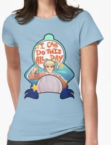 I Can Do This All Day Womens Fitted T-Shirt