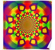 Disco Floor Maze 1 Poster