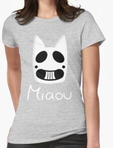 Miaou Womens Fitted T-Shirt