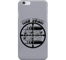 Haven Team Dwight Bullet Magnet Black Logo iPhone Case/Skin