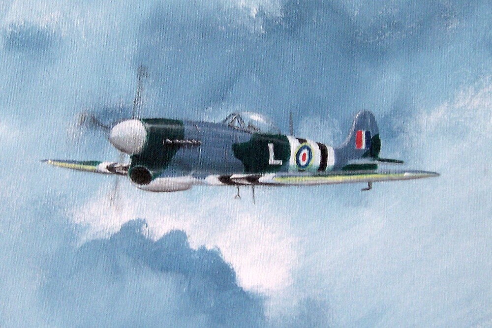 Hawker Tempest by Lee Twigger