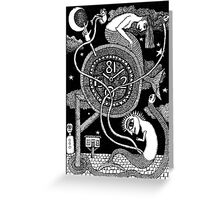 Kundalini Rising Greeting Card