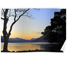 Loch Lomond Sunset Poster