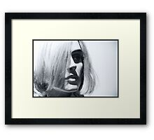 There's nothing you can do to help me. There is nothing you can do... Framed Print
